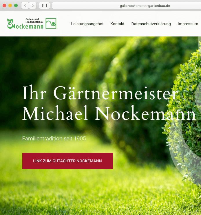 Webseite Nockemann