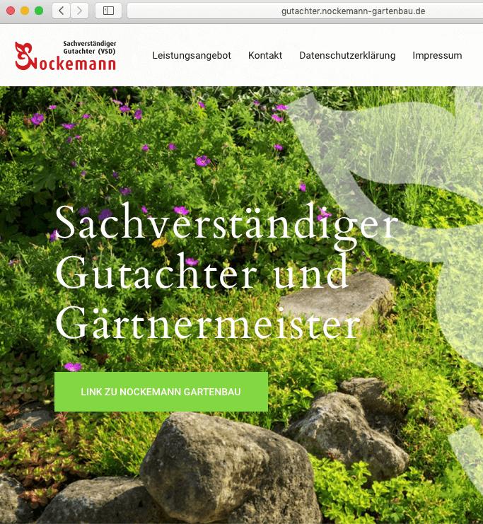 Gartenbau Gutachter Nockemann